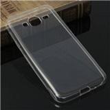 Transparentní silikonové pouzdro Samsung Galaxy J3