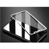 Tvrzené sklo Apple iPhone X 3D, bílé