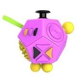 Fidget Cube 12 - stěn, fialový
